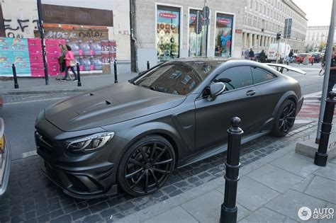 mercedes cls 63 amg black edition mercedes mansory s 63 amg coupe black edition 18