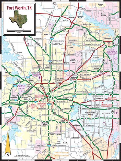 fort worth texas map showing cities pin by sheri roe norris on tarrant county