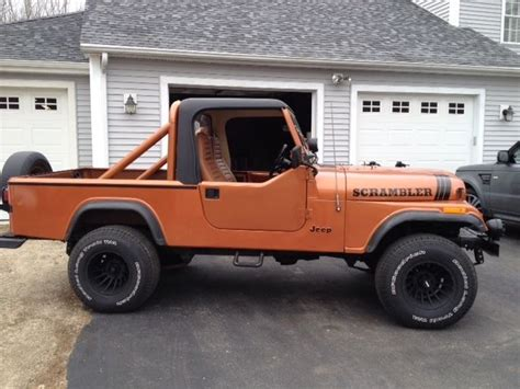 jeep scrambler for sale near me 1983 jeep scrambler c j8 for sale in eliot maine united