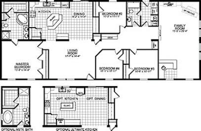 wide mobile home floor plans wide home