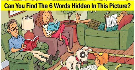 Find In The There Are 6 Words In This Image Can You Find Them