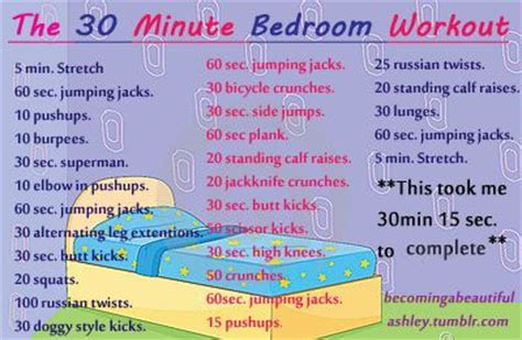 quick bedroom workout pinterest the world s catalog of ideas
