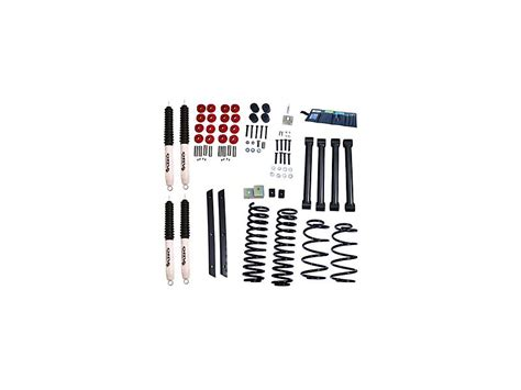 rugged trail lift kits rugged ridge wrangler 2 in lift kit with shocks 18415 31 03 06 wrangler tj rubicon free