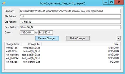 pattern file name rename files within a date range that match a pattern in