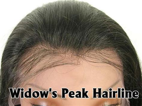 lace hair lines for men widow s peak hairline view hairline and knots