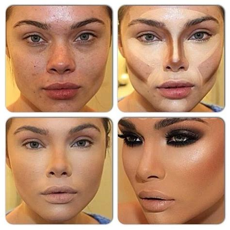 Tutorial Makeup Contouring | 10 light contouring tutorials for every girl pretty designs