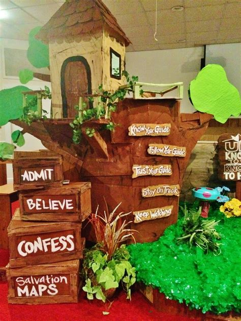 pinterest journey off the map 2015 vbs journey off the map tangled branch tree house and