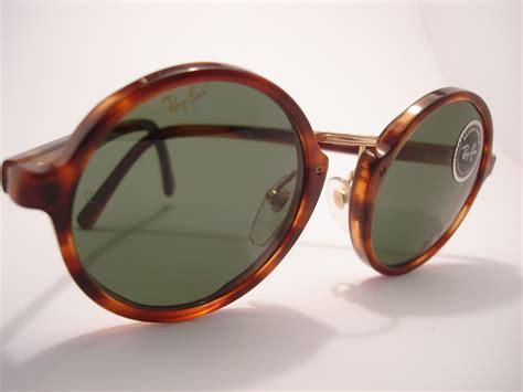 vintage glasses vintage ray ban round sunglasses