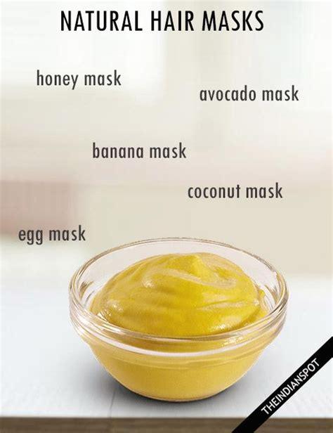hair masks at home for and damaged hair