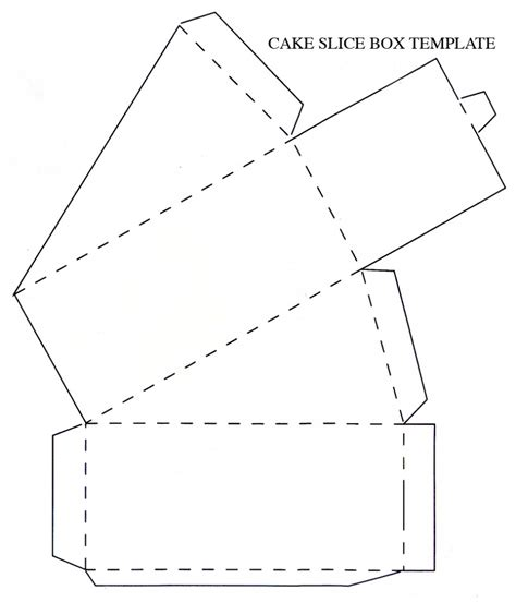 how to make a paper box template how to make a of cake out of cardboard decorative