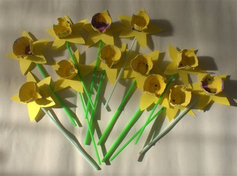 daffodil craft for 1000 images about st davids day on note paper