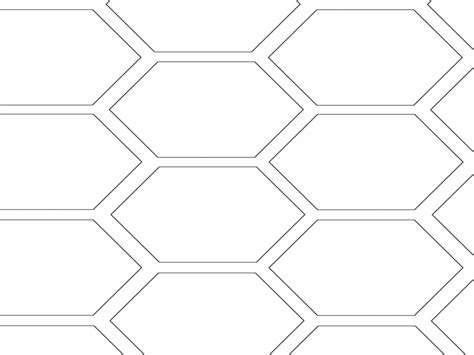 honeycomb pattern color hexagon coloring page honeyb pages grig3 org