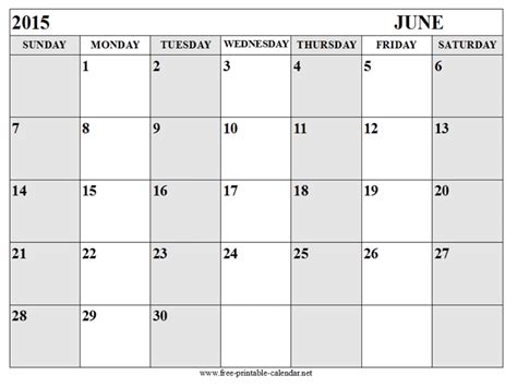 free printable calendar templates june 2015 free printable calendar free printable calendar june
