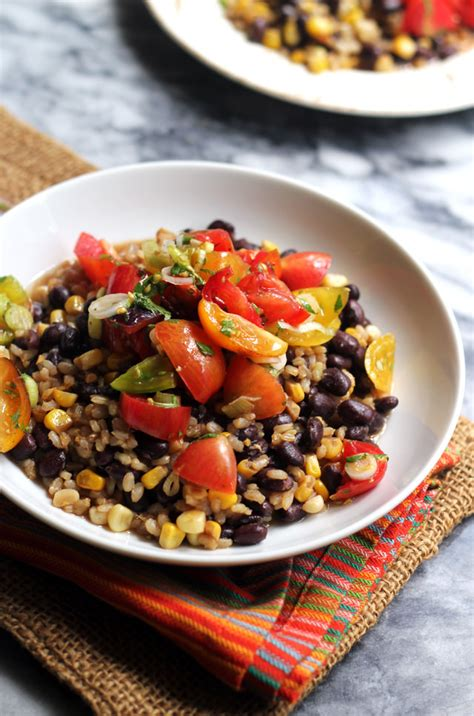 Baby Booster Mix Rice skillet brown rice and beans with heirloom tomato salsa