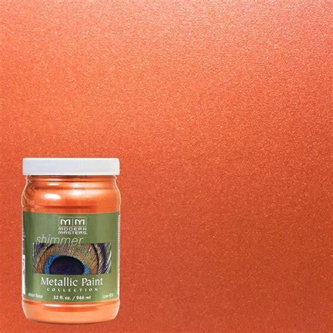 burnt orange paint modern masters 1 qt burnt orange metallic interior