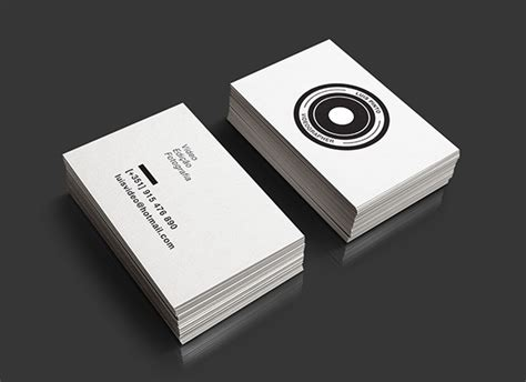Videographer Business Card