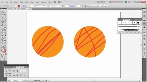 how to doodle in illustrator illustrator draw inside of objects tutorial