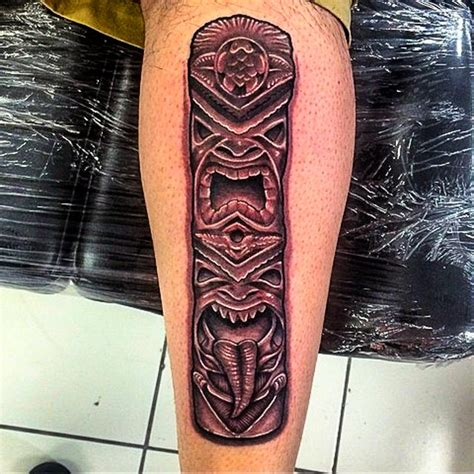totem pole tattoos totem pole tattoos