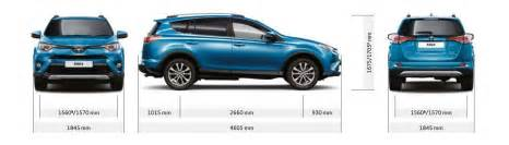 Length Of Toyota Toyota Rav4 And Hybrid Sizes And Dimensions Guide Carwow
