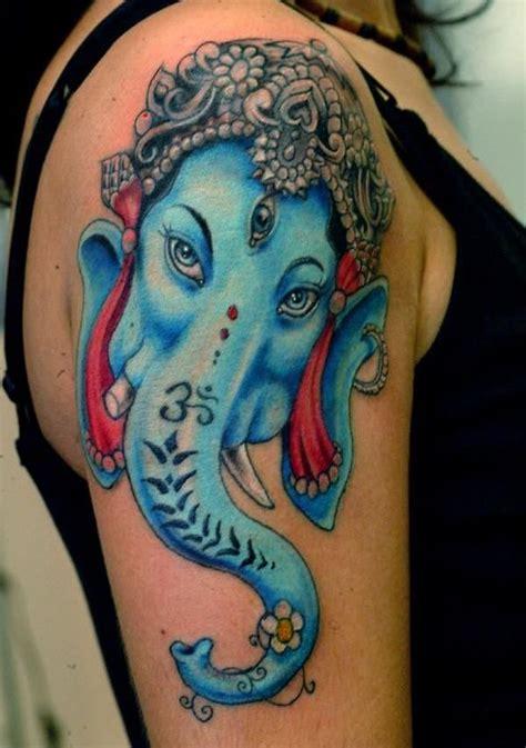 ganesha tattoo on neck hinduism tattoos page 3