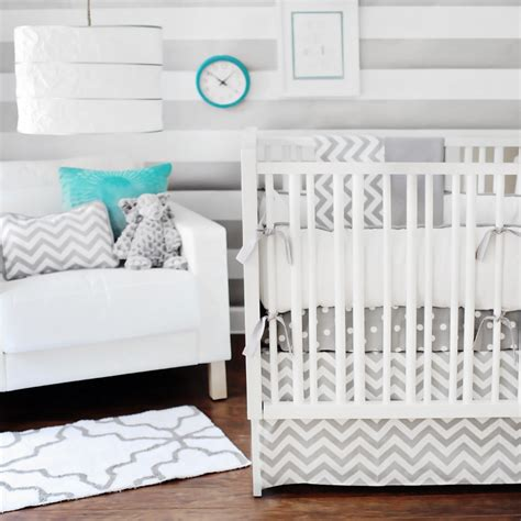 Zig Zag Crib Bedding Zig Zag Crib Bedding Set By New Arrivals Inc Rosenberryrooms