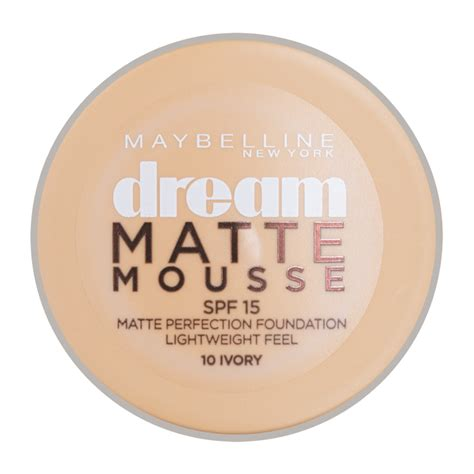 Maybelline Mousse Foundation maybelline new york matte mousse foundation 18ml