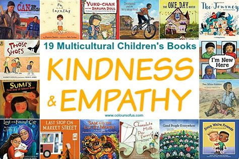 picture books to teach empathy 19 multicultural children s books teaching kindness empathy