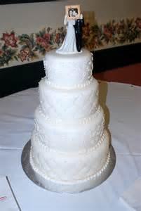 four tier wedding cake