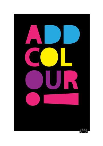 add color text sexier than your average comic sans design juices