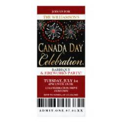 canada day invitations announcements zazzle canada