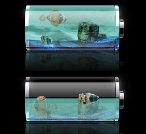 themes battery iphone fish tank battery hd theme thebigboss org iphone