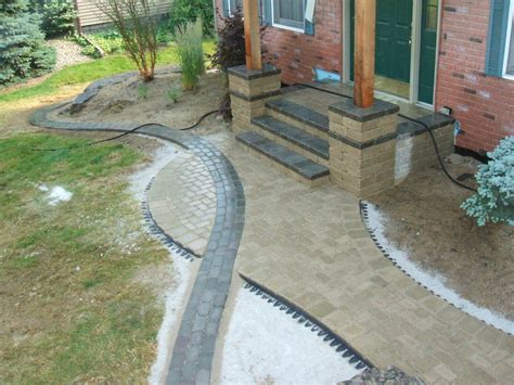 Paver Edging Simons Landscaping Chesterton In Paver Patio Edging