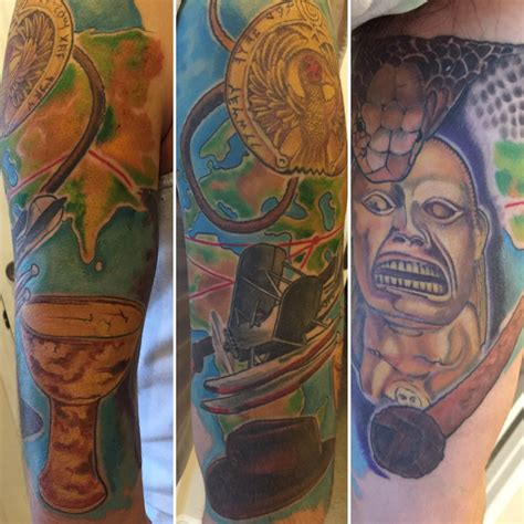 indiana tattoo inked wednesday 98 indiana jones half sleeve and more