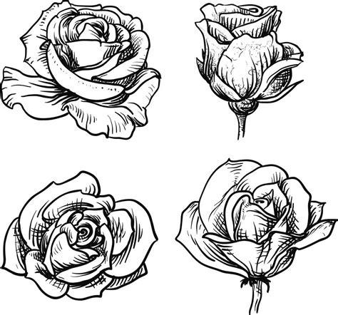 imagenes de flores sombreadas dibujos de rosas para colorear dibujos de rosas dibujos