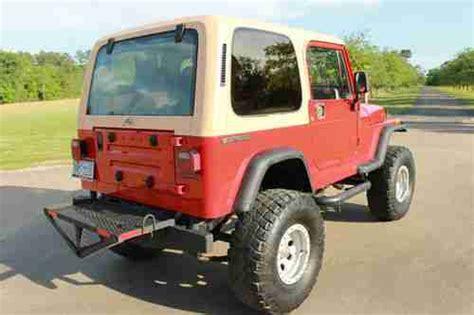 1989 jeep wrangler engine sell used 1989 jeep wrangler custom chevy 350 engine
