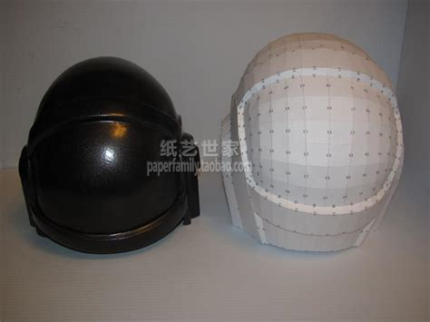 Daft Papercraft - 3d paper model daft helmet mask 1 1 wearable