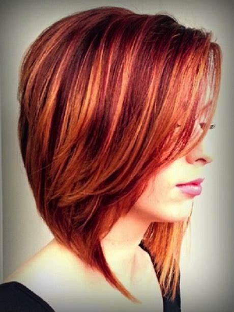 haircuts and blonde highlights hairstyles red blonde highlights