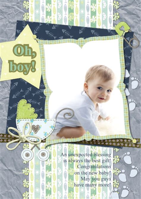 Printable Collage Greeting Card Template by Greeting Card Sles Templates Photo Greeting Cards