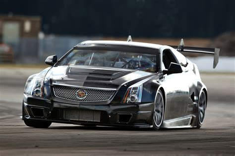 cadillac ct v cadillac cts v race car hits the track for the time