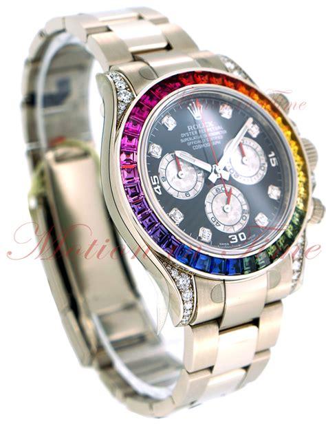 Rolex Daytona Silver Rainbow rolex oyster perpetual cosmograph daytona rainbow black with silver sub dials rainbow