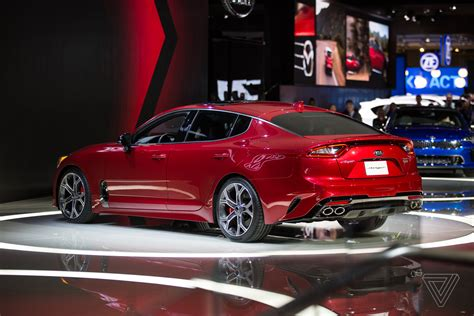 Kia Auto Show The Kia Stinger Is A Sports Sedan That Sizzles In A Sea Of