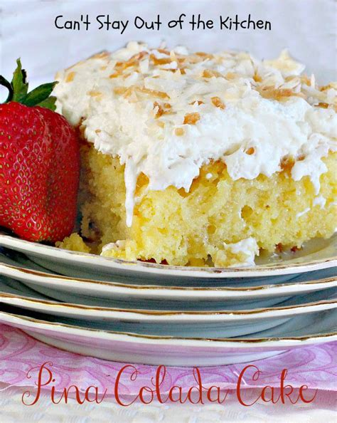 pina coconut cake recipe pina colada cake recipes dishmaps