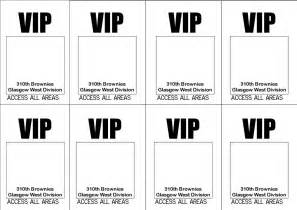 vip pass invitation template bad jokes and oven chips vip passes