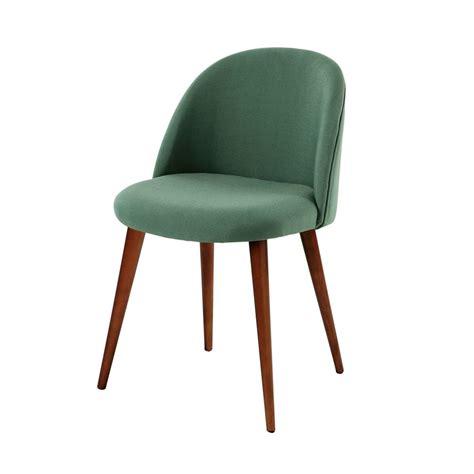 chaise verte chaise vintage verte et bouleau massif mauricette