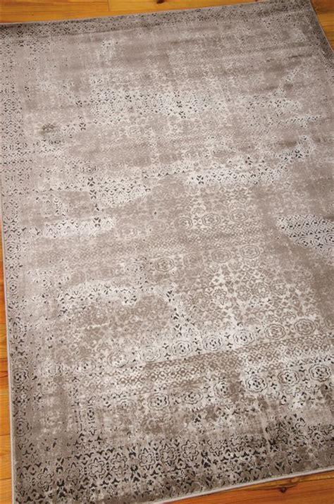 karma rugs nourison karma krm01 ash area rug