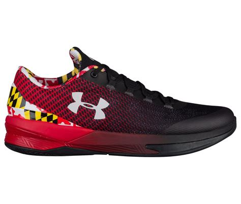 maryland pride basketball shoes armour introduces charged controllers for notre dame