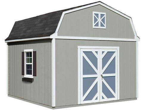 handy home sequoia  wood storage shed  floor