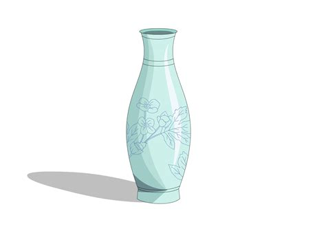 Sketch Of A Vase by 21 Fresh How To Draw A Vase Of Flowers Step By Step