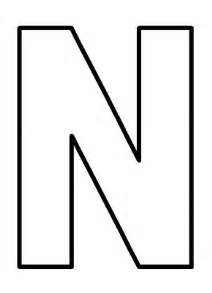 letter n coloring page free coloring pages of letters n