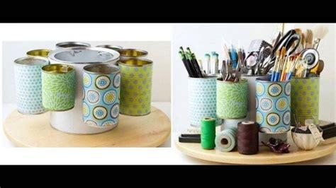 ideas decoracion reciclaje reciclaje de latas ideas para reciclar latas youtube
